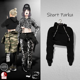 AMERIE - Short Parka(Black)