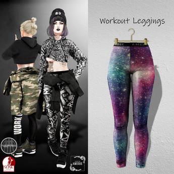 AMERIE - Workout Leggings(E)