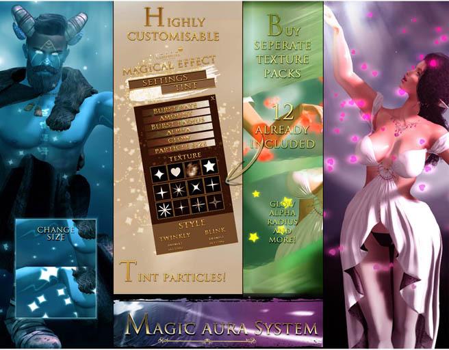 -Elemental- 'Magic' Aura System Hud DEMO