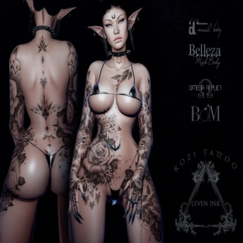 Leven Ink Tattoo - Rozi