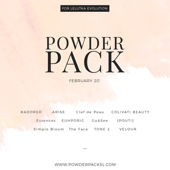 POWDER PACK LELUTKA  February 20'