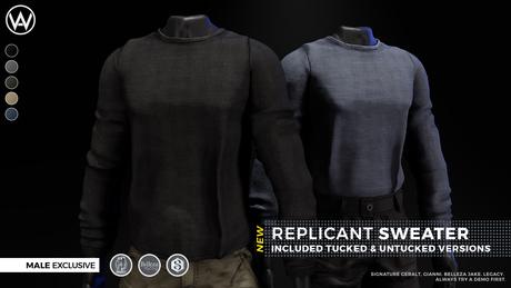 [WAZ] Replicant Sweater (Fatpack)