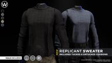 [WAZ] Replicant Sweater (Black) BOXED [Add/Rezz]