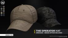 [WAZ] Operator Hat (Fatpack) BOXED [Add/Rezz]
