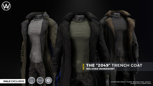 [WAZ] 2049 Trench Coat (Black)