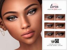 LIVIA Amaya Eyeliner [Catwa Appliers & System-BOM Layers]