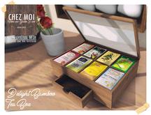 Delight Bamboo Tea Box ♥ CHEZ MOI