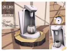 Delight Coffee Machine ♥ CHEZ MOI