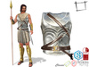 Full Perm Men's Roman Soldier Body Plate Armour Slink Male, Belleza Jake, Signature Gianni, Ocacin Gamit, Onupup