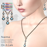 *OAL* Naima Necklace and Earrings