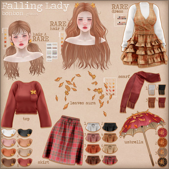 [DEMO] bonbon - falling lady - maitreya gacha