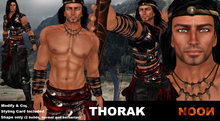 .::NOON::. Thorak Shape - Male shapes line