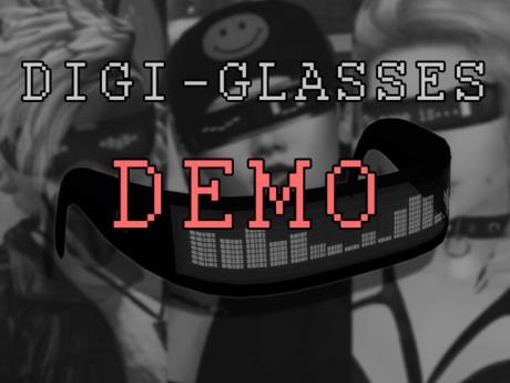 Digi-Glasses DEMO - Cyber LED Eyewear