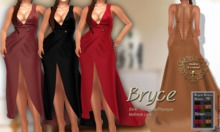 ND*Bryce Straps Long Dress*Maitreya Lara -Slink [Hourglass-Phy]