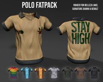 CM.MESH - POLO fatpack (MALE)