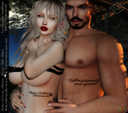 Lush - Together - Tattoo His & Hers- Transferable / BOM, Maitreya, Belleza, Omega, Slink