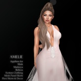 .:FlowerDreams:.Amelie - creamy pink applier gown