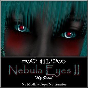 ~*By Snow*~ Nebula Eyes II (Dollarbie)
