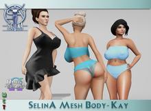 SelinA Mesh Body - Kay
