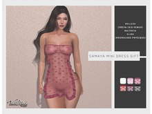 [WellMade] Samaya Mini Dress - DOLLARBIE!