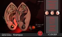:ANDORE: - :Mesh Ears: -  Krampus [PRO]