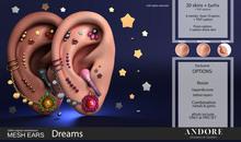 :ANDORE: - :Mesh Ears: - Dreams [PRO]