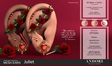 :ANDORE: - :Mesh Ears: - Juliet [PRO]