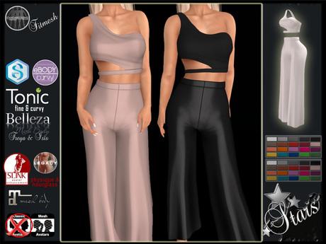 PROMO 50% Stars - Maitreya, Legacy, Signature, Tonic, Slink, Belleza - Gabby top & pants
