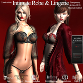 LEIGH - Intimate Robe & Lingerie Set