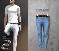 AMERIE M - Denim Pants(Blue)