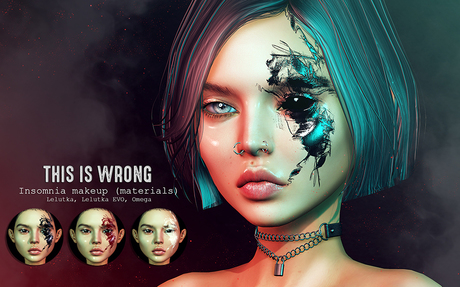 THIS IS WRONG Insomnia makeup (materials)