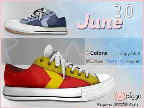 June 2.0 Shoes - Chux : Dash
