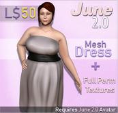 June 2.0 Dress - Strapless
