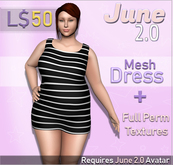 June 2.0 Dress - Tank