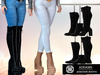 Addams - Addison - Womens Boots Set #30