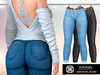 Addams - Addison - Jeans & Leather Pants with Belt #35
