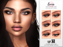 LIVIA Daily Glam Eyeshadow & Liner [Catwa Appliers & System-BOM Layers]