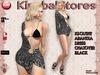 KS OUTFIT ARANTXA DRESS CHATOYER BLACK