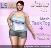 June 2.0 Tank top - Fat Brat