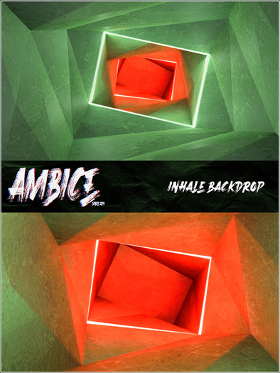 AMBICE - INHALE BACKDROP