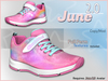 June 2.0 Shoes - Cloudshine Sneakers