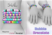 June 2.0 Bubble Bracelets