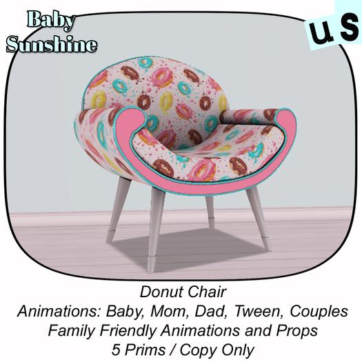 US Donut Chair (ADD)