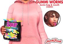Junk Food - Sour Gummi Worms