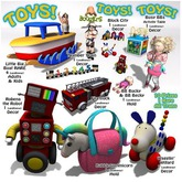 <:*BoOgErS*:> Toys, Toys, Toys FULL SET WITH RARE
