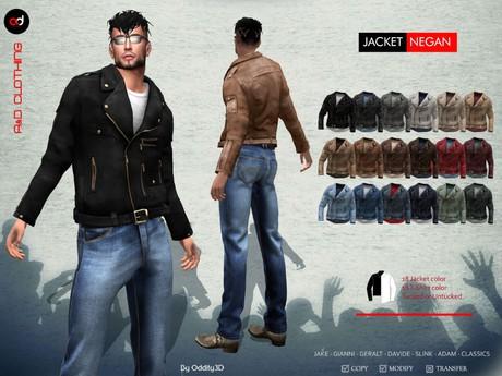 A&D Clothing - Jacket -Negan-  FatPack