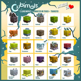 Intrigue Co. Cubimals FULL SET