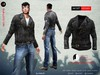 A&D Clothing - Jacket -Negan- Charcoal