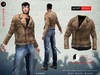 A&D Clothing - Jacket -Negan- Brown