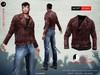 A&D Clothing - Jacket -Negan- Burgundy
